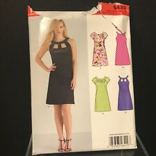 New Look Pattern 6429 Misses Dresses Neckline & Sleeve Variations Size 10-22