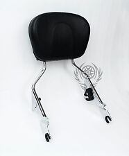 Detachable Sissy Bar For Harley Touring Street Glide Road Glide 09 - 17 Chrome
