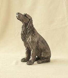 Frith Sculpture Springer Spaniel  Winston  Cold Cast  Bronze  Harriet Dunn HD091