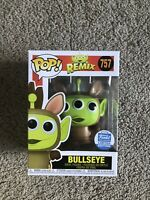 Funko Pop! Animation Drop Exclusive Alien as Bullseye - Remix Toy Story IN HAND