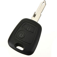 433mhz remote key fob 2 button blade w/transponder chip ID46 for peugeot 206 SH