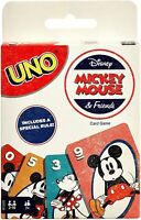 UNO Disney Mickey Mouse & Friends Card Game - NEW