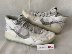 Landry Shamet Game Used NBA Sneakers- Nike KD 12 - MeiGray LOA