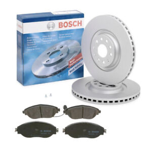 Bosch Front Brake Kit 340mm BD1566 fits Skoda OCTAVIA IV Combi 5E5, 5E6 1.4 TSI