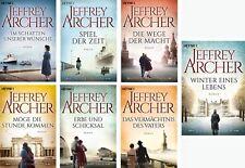 Die Clifton Saga Jeffrey Archer Spiel der Zeit Die Wege der Macht Erbe und Schic