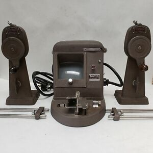Bell & Howell Filmo 16mm Viewer/Editor #146A with Splicer and Heavy Duty Rewinds