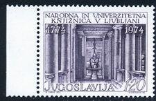 JUGOSLAVIA 1974: BIBLIOTECA LUBIANA NUOVO COME DA FOTO