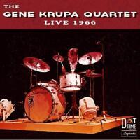 GENE QUARTET KRUPA - LIVE 1966 LIVE AT INDIANA JAZZ FESTIVAL 1966  CD NEW+