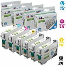 LD© Reman Epson for T127 6pk Extra HY Ink T127120 T127220 T127320 T127420