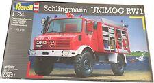 Revell Schlingmann Unimog RW1 Model Kit Ref 07531 Escala 1:24, Nuevo (Leer Desc)