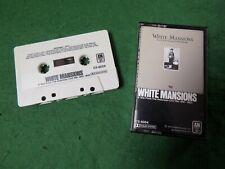 Cassette: VARIOUS White Mansions USA +insert county Jessi Colter Waylon Jennings