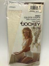 New listing Vintage 1992 Jockey For Her Briefs Underwear Womens Ivory Cotton Sz 6