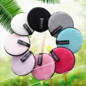 Cotton Pads Sponges Puff Makeup Remover Pads Loose Powder Puff Cleansing Puff