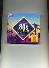 80S CLASSICS THE COLLECTION - A-HA NEW ORDER SHEENA EASTON YES - 4 CDS - NEW!!