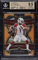 2019 Panini Select Kyler Murray Orange Prizm /49 BGS 9.5 GEM MINT ROOKIE RC SP