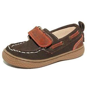 NIB LIVIE & LUCA Boat Shoes North Mocha Brown 7