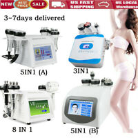 3/5/8 IN1 Ultrasonic Cavitation RF Vacuum Radio Anti-Cellulite Slimming Machine