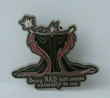 Disney Pin Sleeping Beauty Maleficent Being BAD Just Comes Naturally To Me