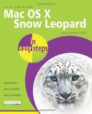 Mac OS X Snow Leopard In Easy Steps,Nick Vandome