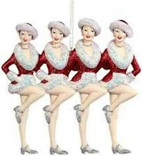 Kurt Adler Rockettes® Showgirls Christmas Ornament