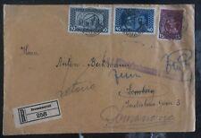 1917 Domanovic Bosnia Herzegovina Military Post office KUK Cover Domestic Used