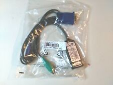 HP 396632 RJ45 to VGA PS/2 KVM IP CAT5 Interface Adapter Cable