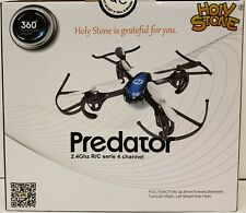 NEW SEALED HOLY STONE PREDATOR~2.4Ghz R/C HELICOPTER DRONE~6-AXIS GYRO~4 CHANNEL