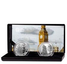 2017 Great Britain 1 oz. Silver Landmark of Britain Big Ben 2-Coin Set SKU53764
