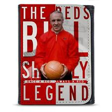 Shankly Liverpool PU Leather Wallet Football Legend Mens Dad Him Gift LG11