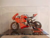 Acrylic display case for LEGO Ducati Panigale V4 R 42107(AUS Top Rated Seller)