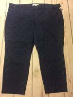 NWT Womens Old Navy Pixie Skinny High Waist Pants Blue Black Dot Plus Size 26