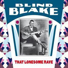 BLIND BLAKE THAT LONESOME RAVE MONK RECORDS LP VINYL NEUF NEW VINYL