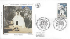 2002 - ENVELOPPE 1er JOUR FDC SOIE - N° 3496 - CHAPELLE ST-SER - PUYLOUBIER