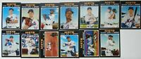 2020 Topps Heritage New York Mets Base Team Set of 13 Baseball Cards