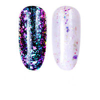 3ml Nail Art Soak Off UV Gel Polish Chameleon Sequins Iridescent Gel Born Pretty