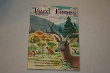 FORD TIMES MAGAZINE SEPTEMBER 1968