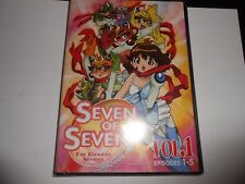 NEW Seven of Seven Vol 1 The Luckiest Number DVD Shichinin No Nana Anime Sealed