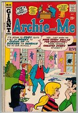 ARCHIE AND ME #45 1971 SCHOOL VANDALISM COVER STORY BRONZE AGE GIANT 52 PAGES!