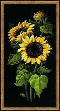 SUNFLOWERS RIOLIS X STITCH KIT (1056) FLOWERS, PRETTY