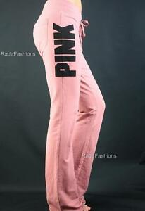 Victoria's Secret PINK University Flare Lounge Logo Fitted Stretch Sweat Pants