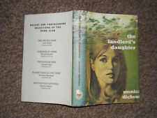 The Landlord's Daughter by Monica Dickens Hb in Dw 1969 book club