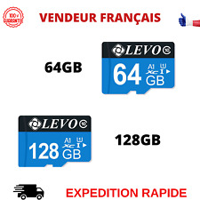 CARTE MEMOIRE MICRO SD CLASS10 SDXC 64GB GO 128GB GO POUR TELEPHONE TABLETTE ETC