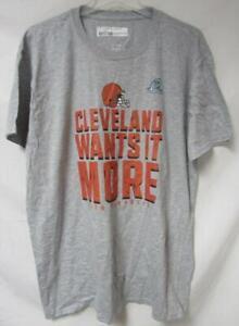 Cleveland Browns Men's Size XL or 2XL 2020 Playoffs T-Shirt A1 3850