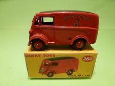 DINKY TOYS 260 ROYAL MAIL VAN  - RED - EXCELLENT IN BOX