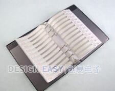 0603 SMD 3025pcs Resistor and 700pcs Capacitor Sample Book0603 SMD 3025pcs Resis