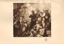 1904 VICTORIAN STUDIO PRINT ~ DEPARTURE OF LANCASTER FOR EAST INDIES by BRANGWYN