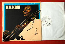 B.B.KING KING SIZE UNIQUE WHITE LAB EXYUGO PRESSING LP