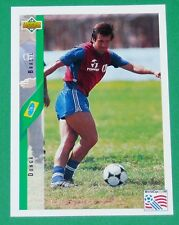 RARE FOOTBALL CARD UPPER DECK 1994 USA 94 DUNGA AURIVERDE BRESIL BRASIL