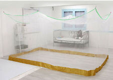 360 x 210 x 200cm 7~8 p White Portable Mosquito Net Canopy Indoor Outdoor Large