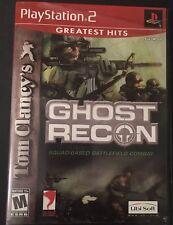 Tom Clancy's Ghost Recon (Sony PlayStation 2, 2002) Tested & Complete!